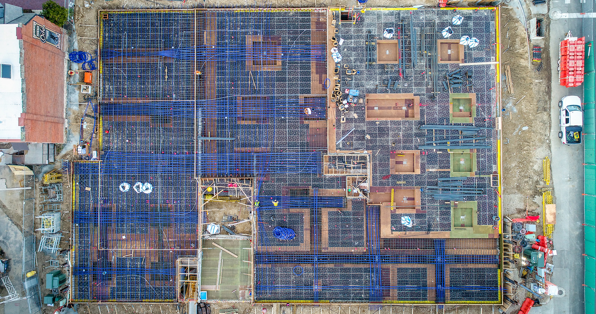 Building Complexity: 5th & Idaho Post-Tensioned Concrete