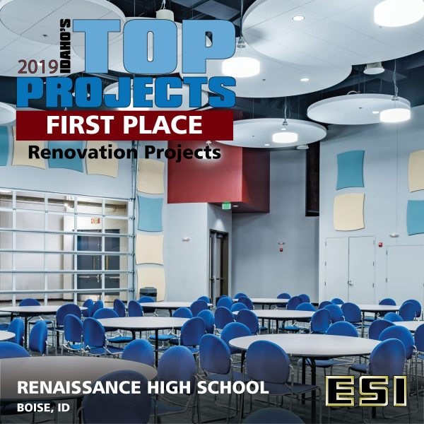 Renaissance High School IBR Top Projects Announcement2